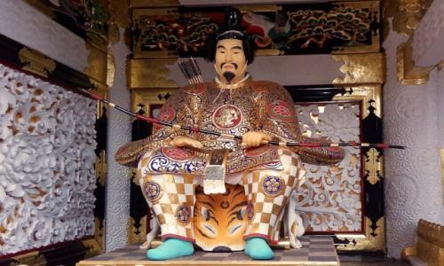 Zdjęcie JAPONIA / Nikko / Świątynia Rinnouji / Shogun
