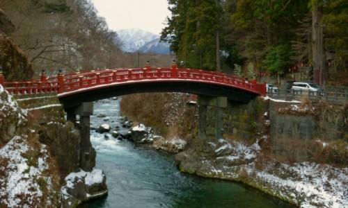 Zdjecie JAPONIA / Honsiu / Nikko / Most Shinkyo