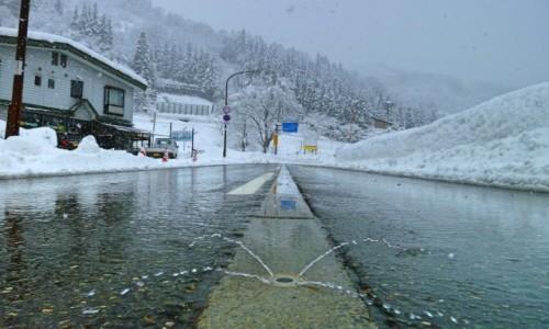 Zdjęcie JAPONIA / Honsiu / Yuzawa / Odśnieżanie trwa..