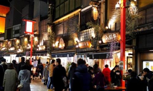 Zdjecie JAPONIA / Tokio / Asakusa / Nowy Rok w Asakusa