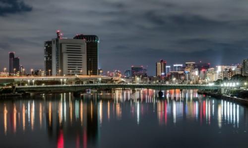 Zdjęcie JAPONIA / Kanto / Tokio / Nad rzeką Sumida