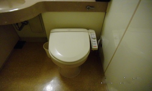 Zdjecie JAPONIA / Tokio / Ibis Hotel / Toaleta z panelem sterowania
