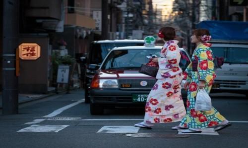 Zdjęcie JAPONIA / Kansai  / Kyoto / Street