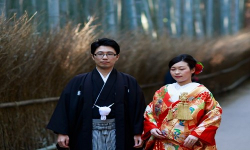 Zdjecie JAPONIA / Kansai  / Kyoto / Bamboo Forest