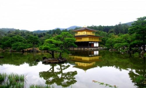 Zdjecie JAPONIA / Kioto / Kioto / Złoty Pawilon - Kinkakuji