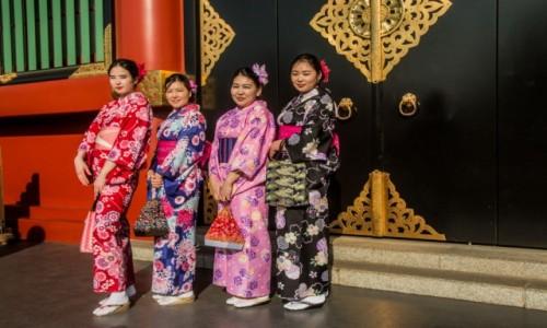 Zdjecie JAPONIA / Tokio / Tokio / Pewnego popołudnia w Senso-ji