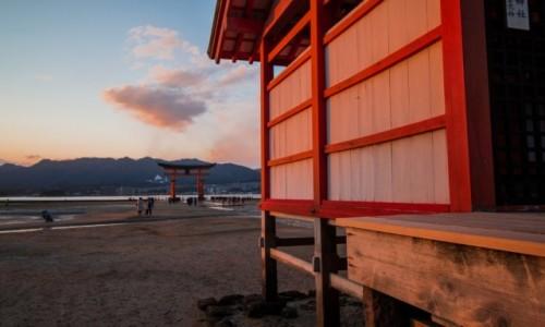 Zdjecie JAPONIA / Hiroshima / Miyajima / Itsukishima-jinja