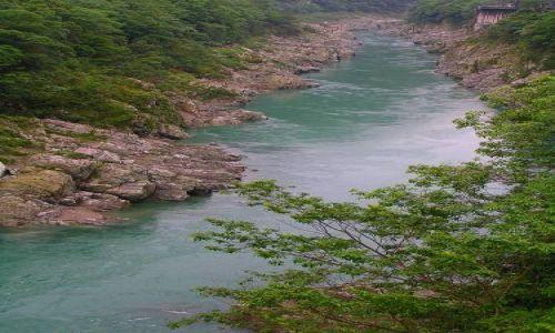 Zdjecie JAPONIA / -Shikoku / Iya Valley / Wąwóz Koboke-Oboke