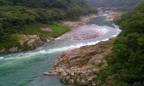 Zdjęcie JAPONIA / -Shikoku / Iya Valley / Wąwóz Koboke-Oboke