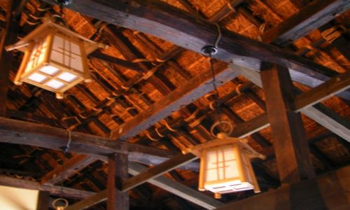 Zdjęcie JAPONIA / -Shikoku / Iya Valley - / Dom Samurajski - Buke Yashiki