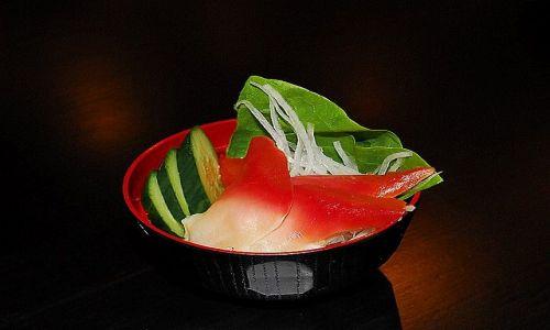 Zdjecie JAPONIA / restauracja / Tokio / sashimi