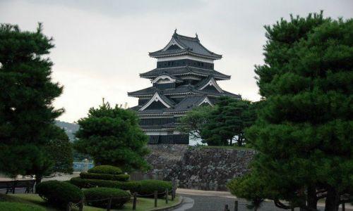 JAPONIA / Nagano / Matsumoto / Zamek w Matsumoto