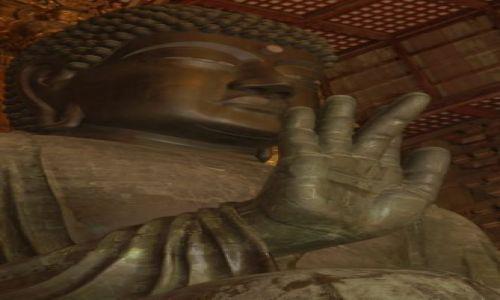 Zdjecie JAPONIA / brak / w świątyni Todaiji / Największy Budda na świecie