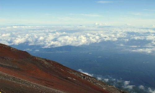 Zdjecie JAPONIA / brak / Fuji San / zbocze wulkanu