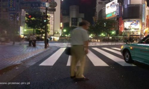 Zdjecie JAPONIA / brak / Tokio - Shibuja / Pijaństwo
