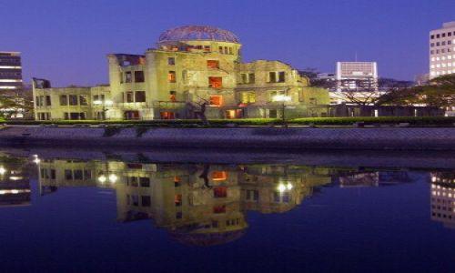 Zdjęcie JAPONIA / Hiroshima / okolice parku pokoju / A-Bomb dome