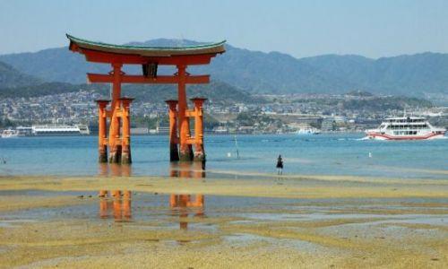 Zdjecie JAPONIA / Hiroshima / Hiroshima / brama