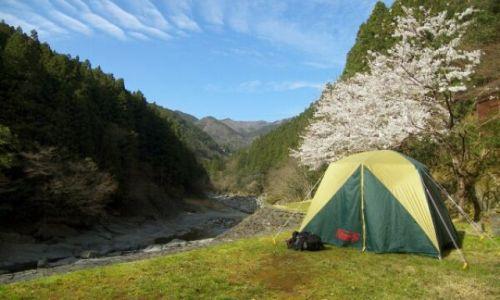 Zdjęcie JAPONIA / Iya Valley / okolice Kazurabashi / w tak w pieknych okolicznosciach przyrody