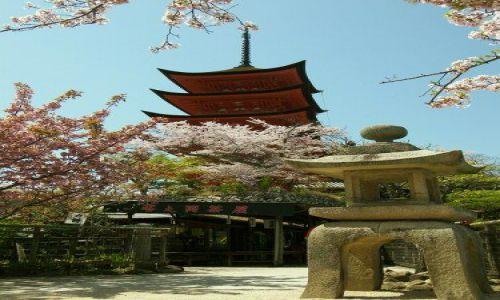 Zdjęcie JAPONIA / Hiroshima / okolice Hiroshimy / pagoda