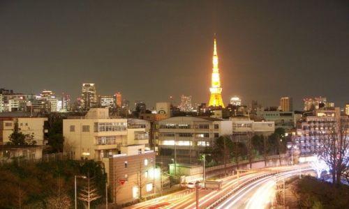 Zdjecie JAPONIA / Tokio / Tokio / Widok na Tokio Tower