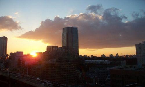 Zdjecie JAPONIA / Tokio / Tokio / Widok z hotelowego okna..