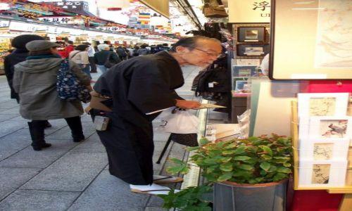 Zdjecie JAPONIA / Tokio / Asakusa / Japończyk :)