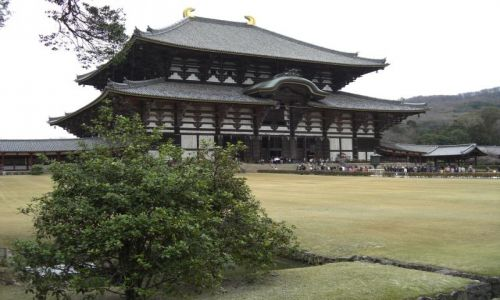 Zdjecie JAPONIA / brak / NARA / Japonia - NARA - światynia TODAI-JI