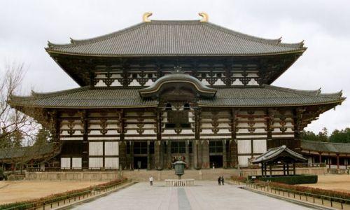Zdjęcie JAPONIA / Nara / park / świątynia w Narze