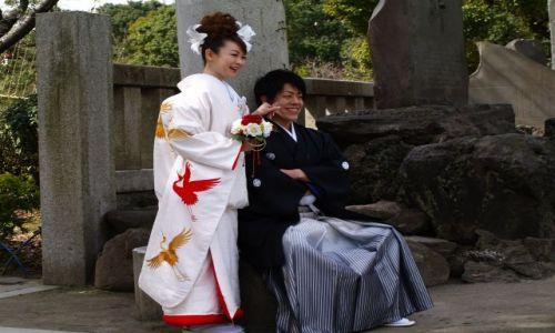 Zdjecie JAPONIA / Tokio / Tokio / Młoda Para
