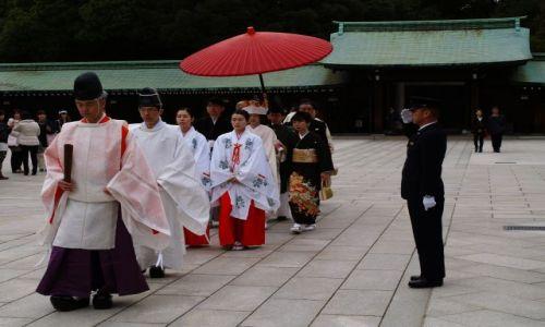 Zdjecie JAPONIA / Tokio / Tokio / ślub po japońsku
