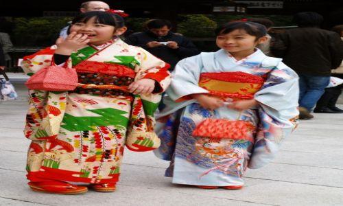 Zdjecie JAPONIA / Tokio / Tokio / japońskie dziec