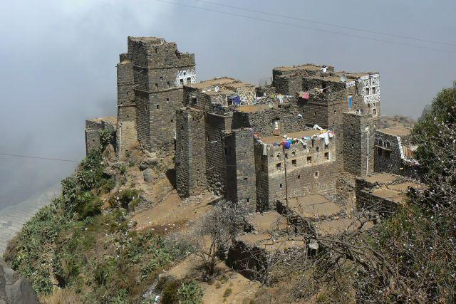 Zdjęcia: Manakha, Wioska w Górach Haraz., JEMEN