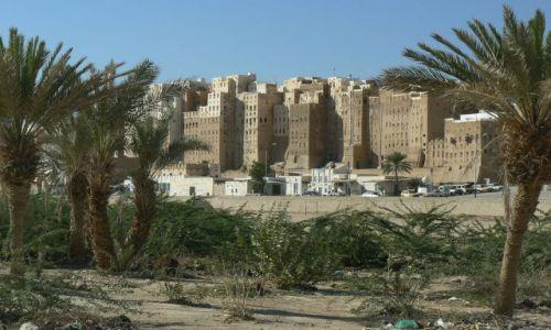Zdjęcie JEMEN / - / Schibam / Jemeńskie drapacze chmur.