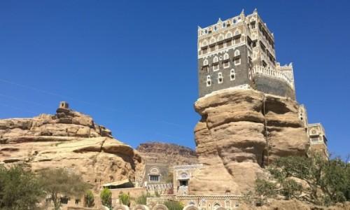 Zdjęcie JEMEN / Jemen / Dar al Hajar / w pobliżu Sana'a