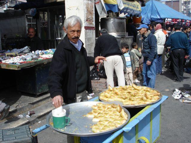 Zdjęcia: Amman, slodkosci, JORDANIA