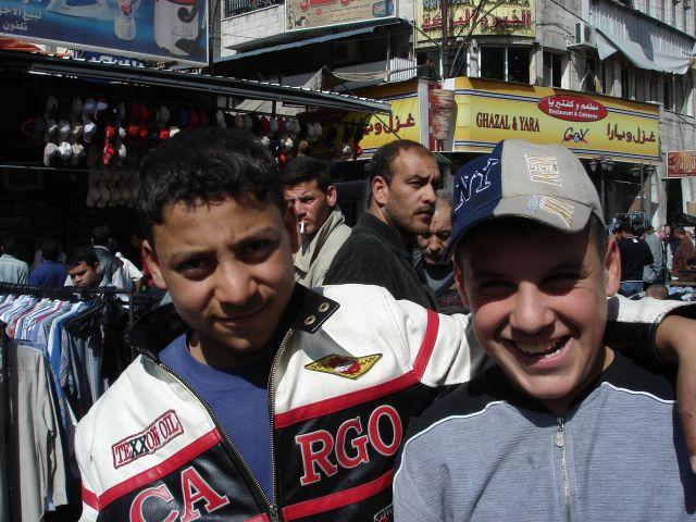 Zdjęcia: Amman, kumple, JORDANIA