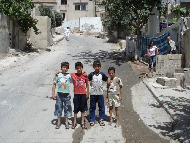 Zdjęcia: Amman, koledzy, JORDANIA