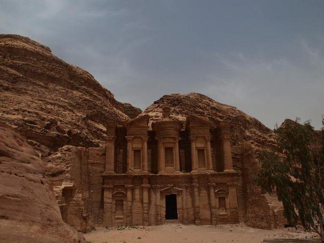Zdjęcia: petra, deir czyli klasztor, JORDANIA