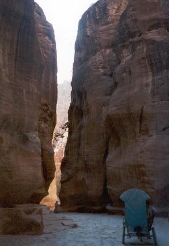 Zdjęcia: Petra, Przez Siq, JORDANIA
