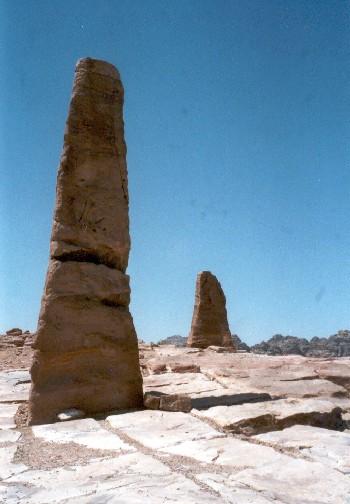 Zdjęcia: Petra, Obelisk, JORDANIA