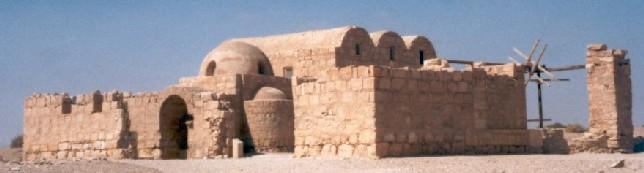 Zdjęcia: Amra, pustynia, Zameczek Amra na pustyni, JORDANIA