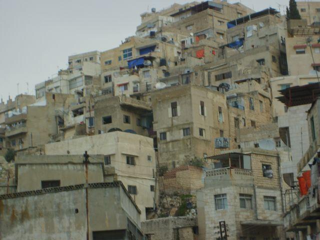 Zdjęcia: Amman, blokowisko, JORDANIA