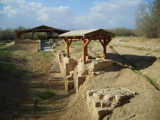 Zdjęcia: Rzeka Jordan, Miejsce Chrztu Chrystusa, JORDANIA