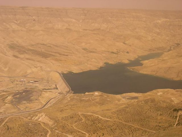 Zdjęcia: Wadi al-Mudżib, Widocaek, JORDANIA