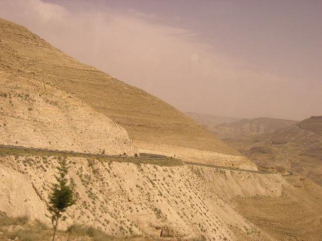 Zdjęcia: Wadi al-Mudżib, Widoczek, JORDANIA