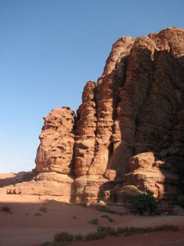 Zdj�cia: Wadi Rum, Na pustyni Wadi Rum, JORDANIA