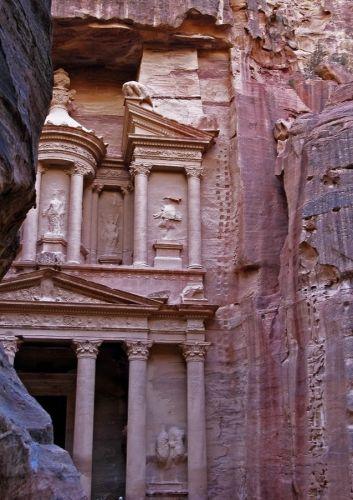 Zdj�cia: Petra, na skraju Pustyni Arabskiej, ..., JORDANIA