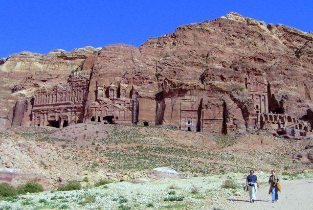 Zdjęcia: skalne miasto Nabateńczyków, Petra, Bajka w skałach, JORDANIA