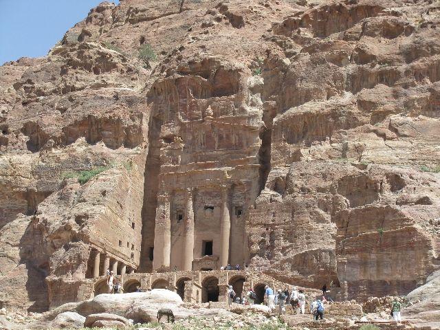 Zdjęcia: Petra, Urn Tomb (grobowiec), JORDANIA