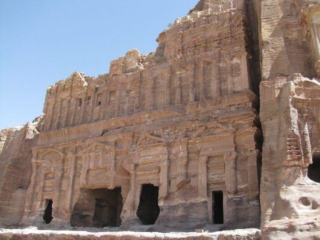 Zdjęcia: Petra, Palace Tomb , JORDANIA